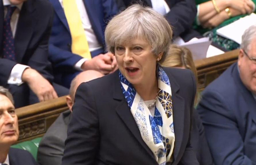 Theresa May has opposed making 'gay cure' therapy illegal