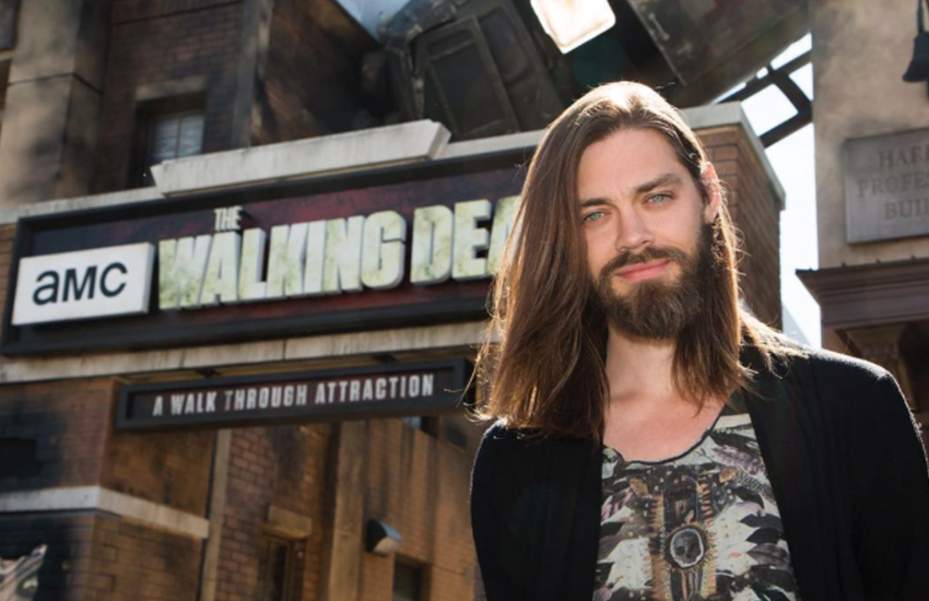 Tom Payne talks his Walking Dead character coming out