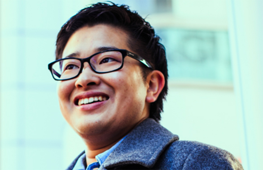 Tomoya Hosoda has come the world's first elected transgender male public official