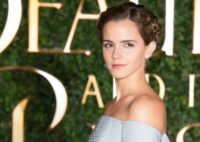 Emma Watson at the Beauty and the Beast premiere