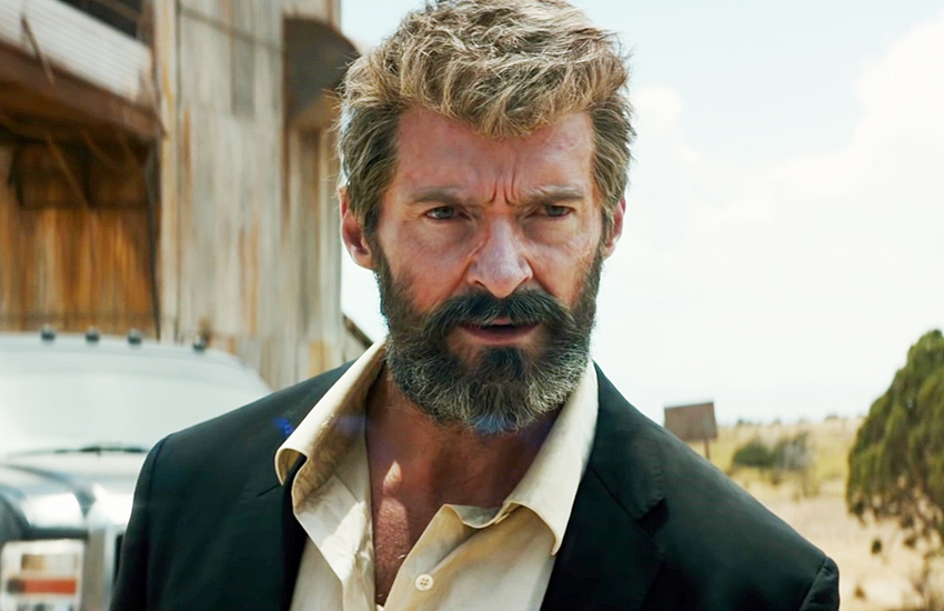Hugh Jackman reprises his role as Wolverine in Logan this month