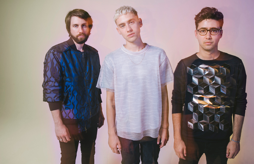 Years & Years members Mikey Goldsworthy, Olly Alexander and Emre Türkmen