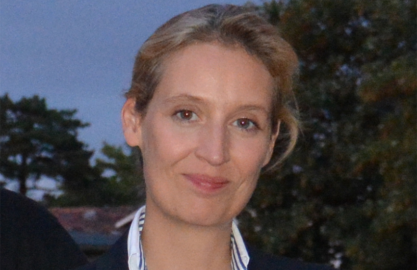Alice Weidel lives with her wife and their two sons