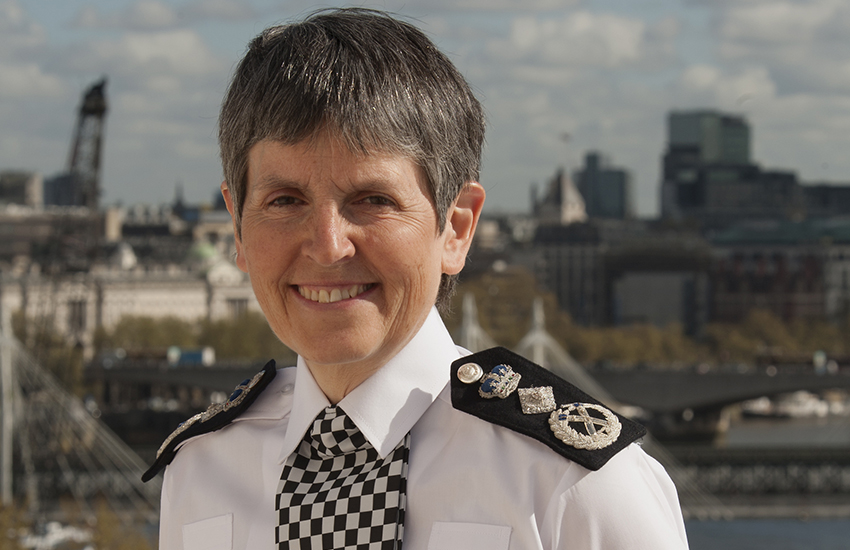 Cressida Dick is the first woman to be appointed Commissioner of the Metropolitan Police