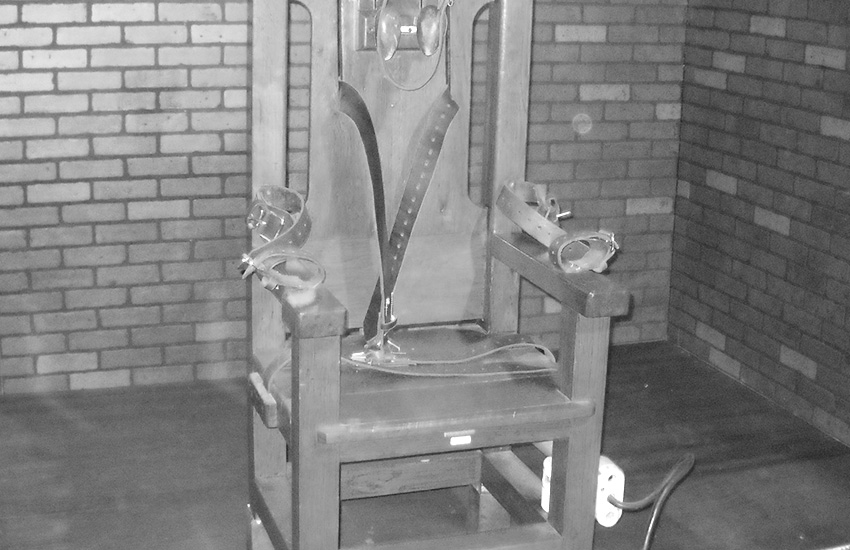 A gay man was tortured in a homemade electric chair