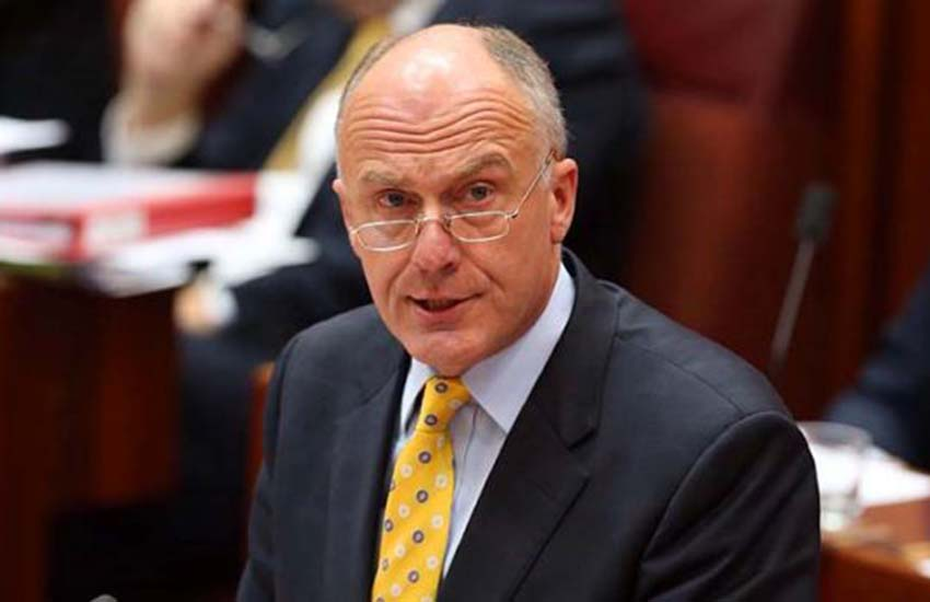 Eric Abetz claims gay people can 'turn' straight