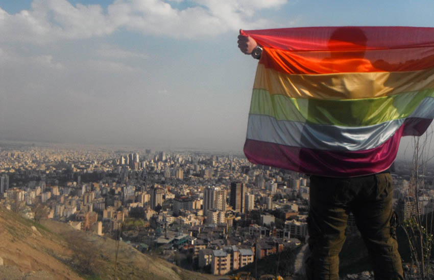 Iran gay activists are forced to hide