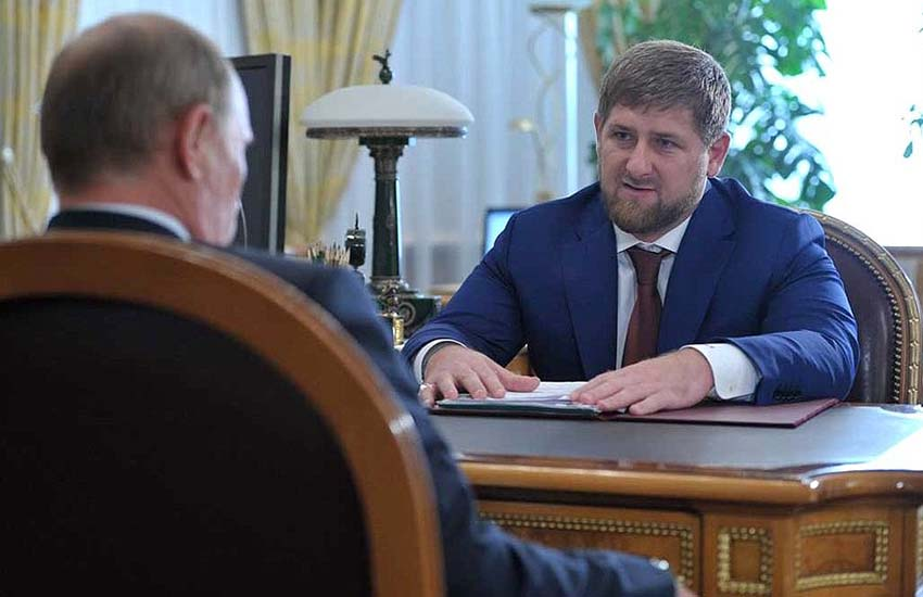Ramzan Kadyrov is the Head of Chechnya's movement
