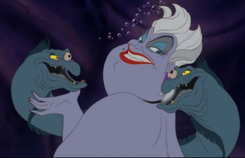 Ursula is a total drag queen!