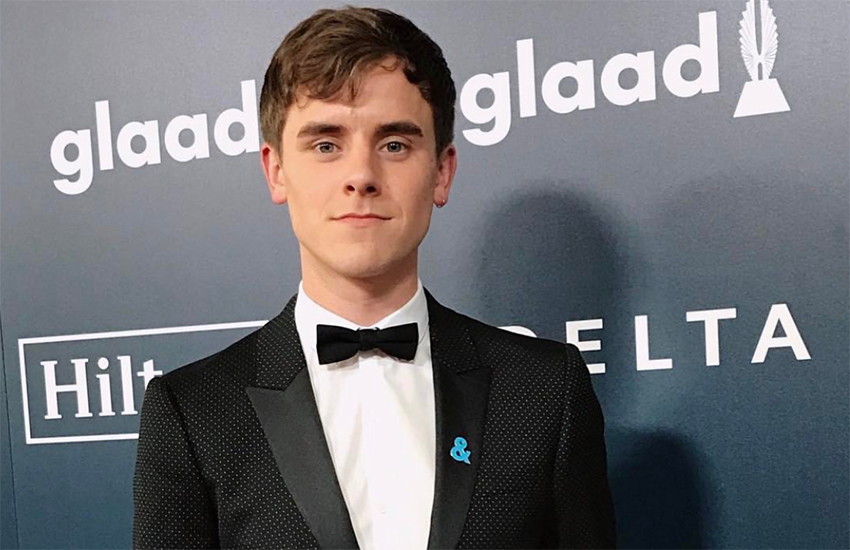 Connor Franta attended his first GLAAD Media Awards this year