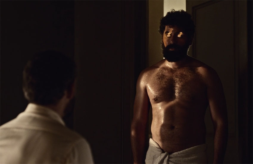 American Gods features an explicit gay sex scene between two Arab men