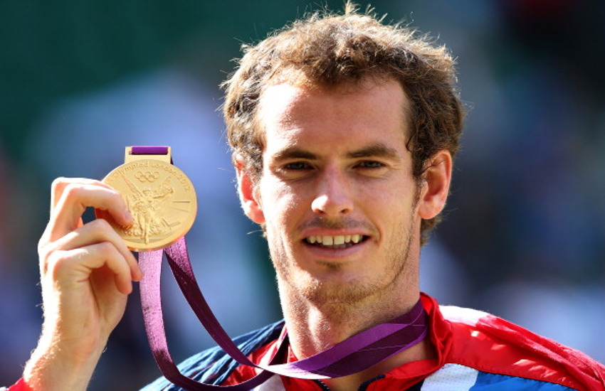 Andy Murray is the winner of two Olympic gold medals in singles
