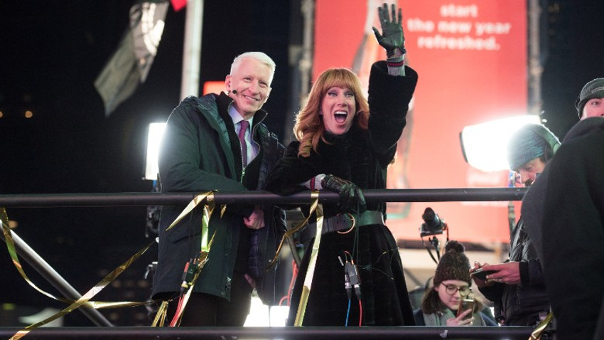 Anderson Cooper and Katy Griffin's 10-year run hosting CNN's New Year's eve show is now over