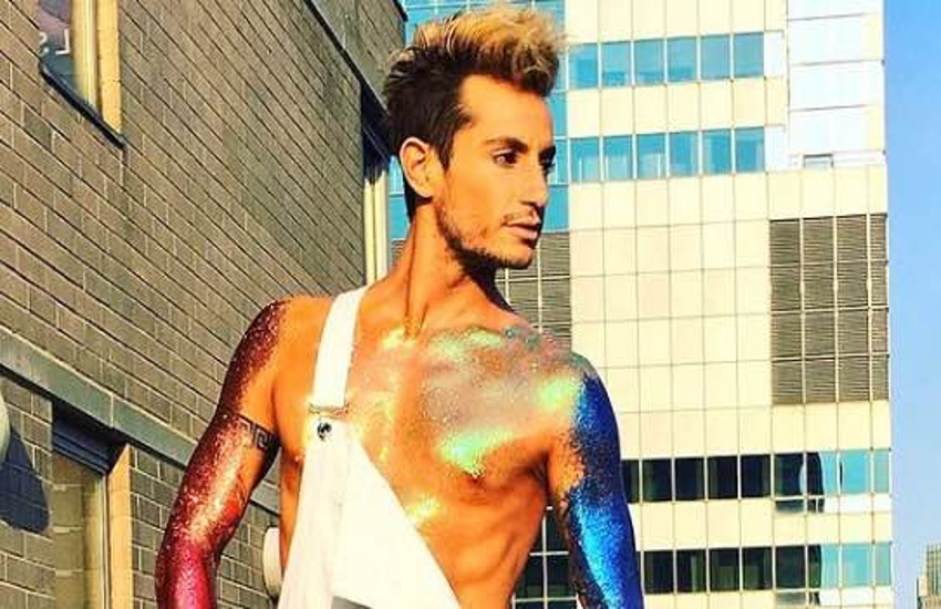 Frankie Grande has appeared on Broadway as Franz in the musical Rock of Ages
