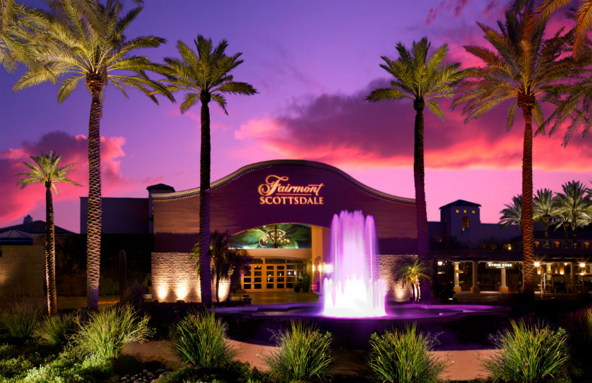 Visit Scottsdale, Arizona and stay at the lovely Fairmont Scottsdale Princess
