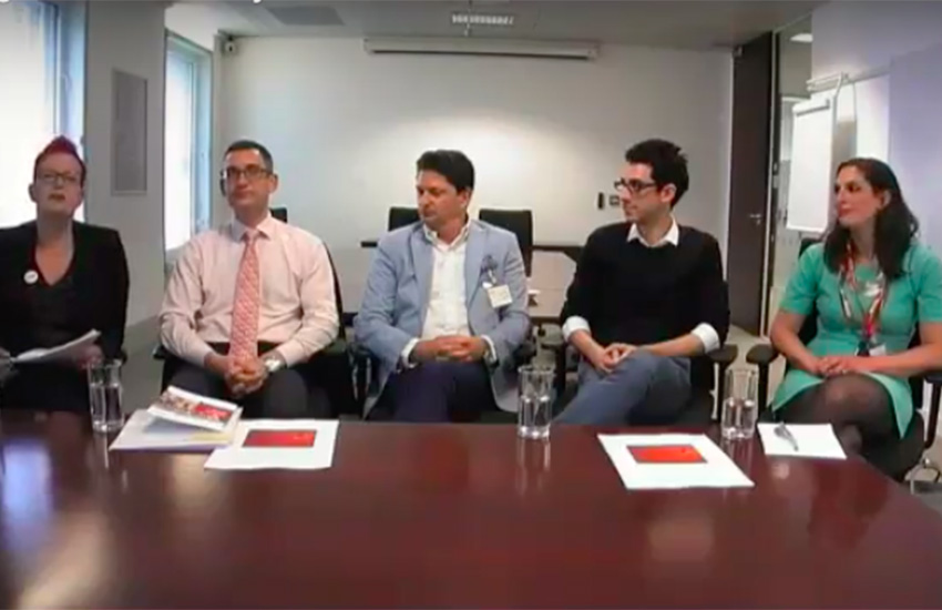 The London Panel at Fujitsu's Digital Pride event