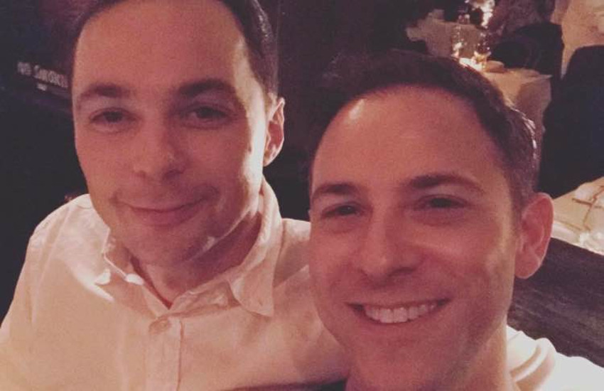 Jim Parsons and husband Todd Spiewak