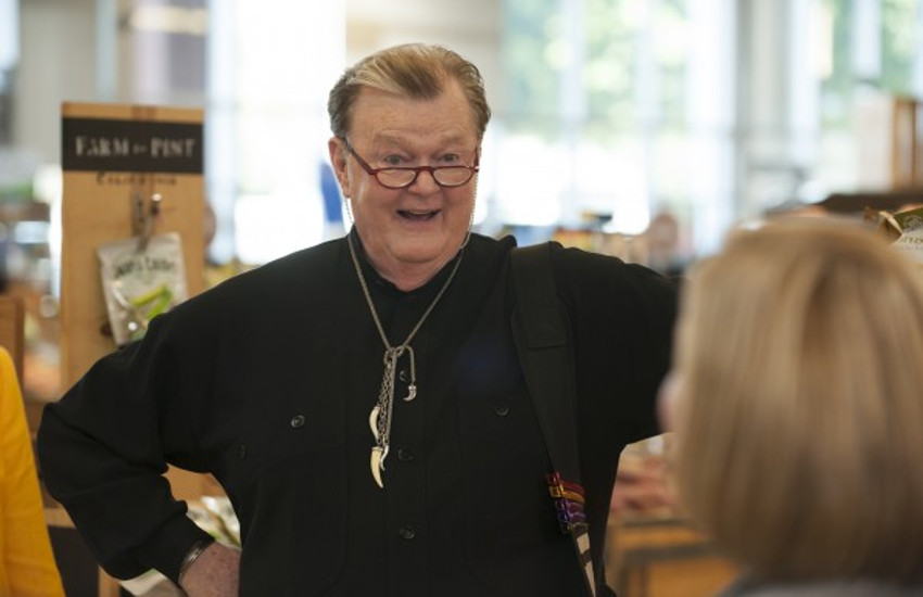 Robert Michael Morris started acting after a 25-year teaching career
