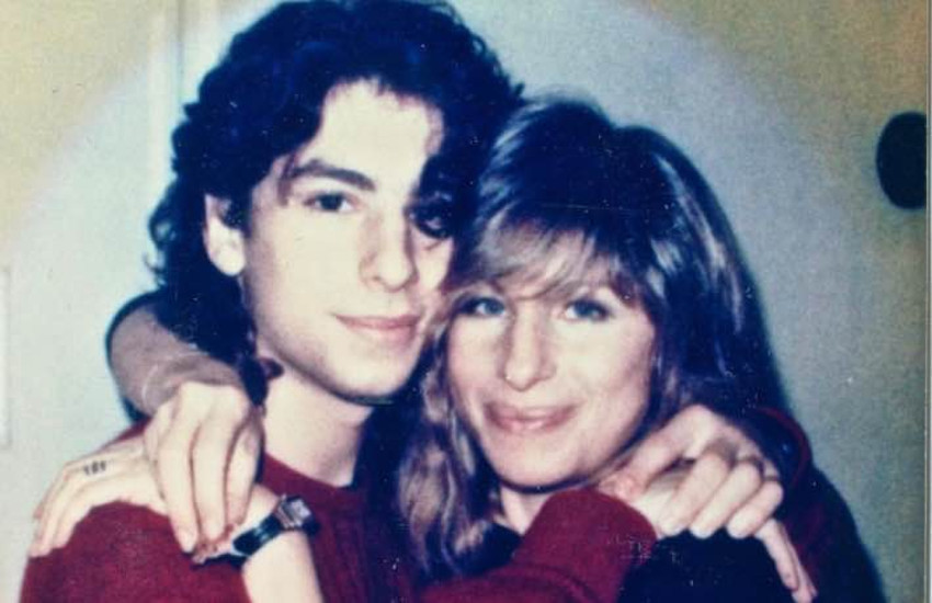 Singer Jason Gould and his mother Barbra Streisand