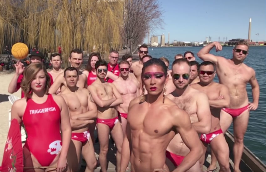 Toronto Triggerfish water polo team