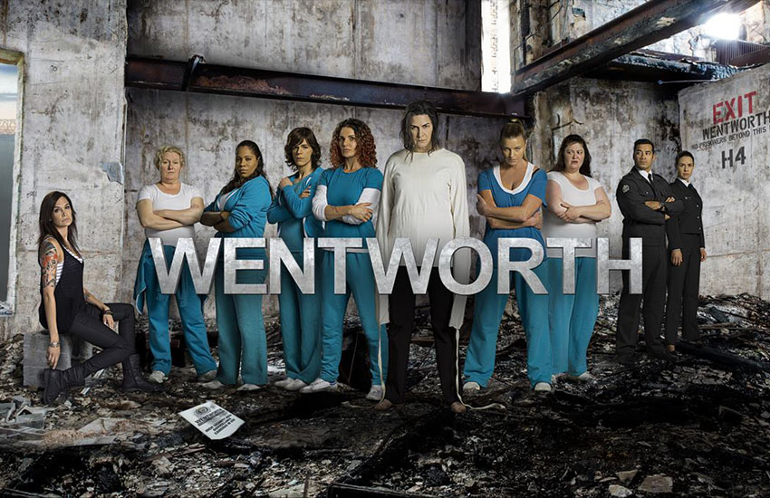 The cast of Wentworth (Daniielle Alexis is not pictured)