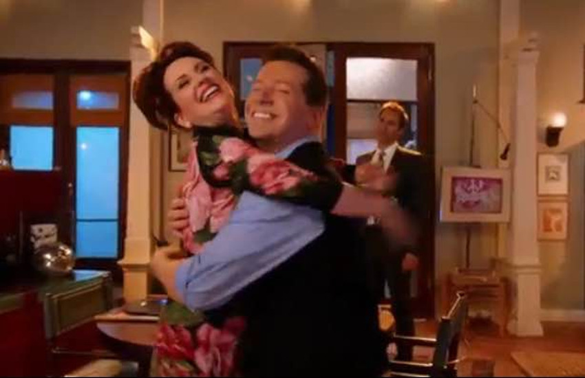 Megan Mullally and Sean Hayes share a musical moment in new trailer for Will & Grace