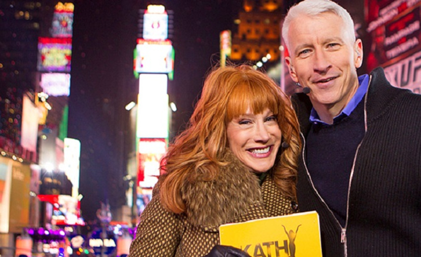 Anderson Cooper and Kathy Griffin in happier times