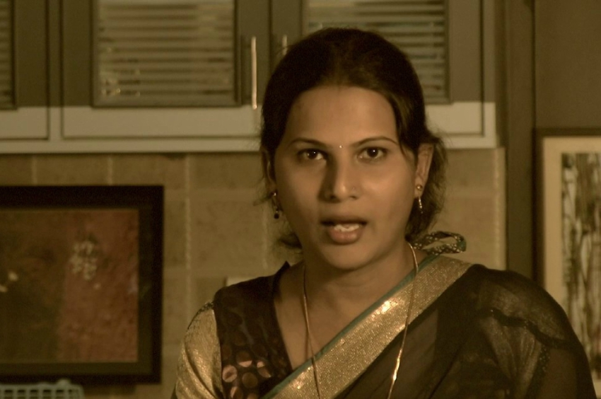 Anjali hosts TransVisions, India's first video channel made by trans people. Photo: YouTube