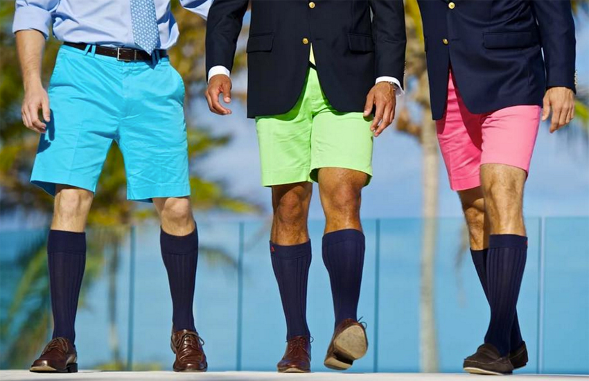 The country famously lends its name to the casual knee-length Bermuda style of shorts
