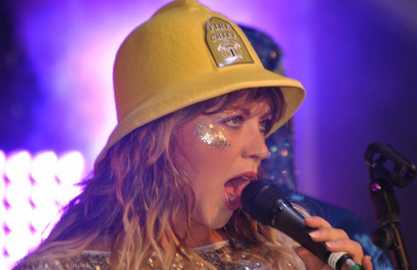 Charlotte Church performed as part of the Late Night Pop Dungeon at the weekend