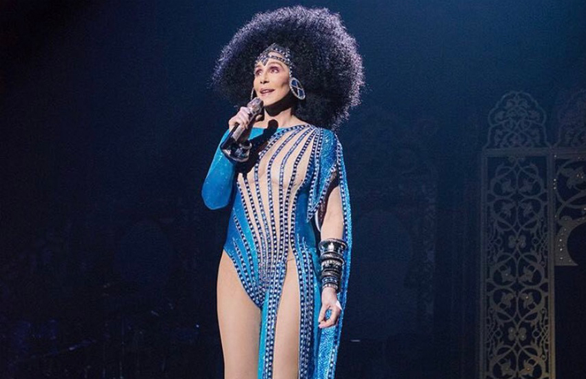 Cher has had a hit record every decade dating back to the 1960s