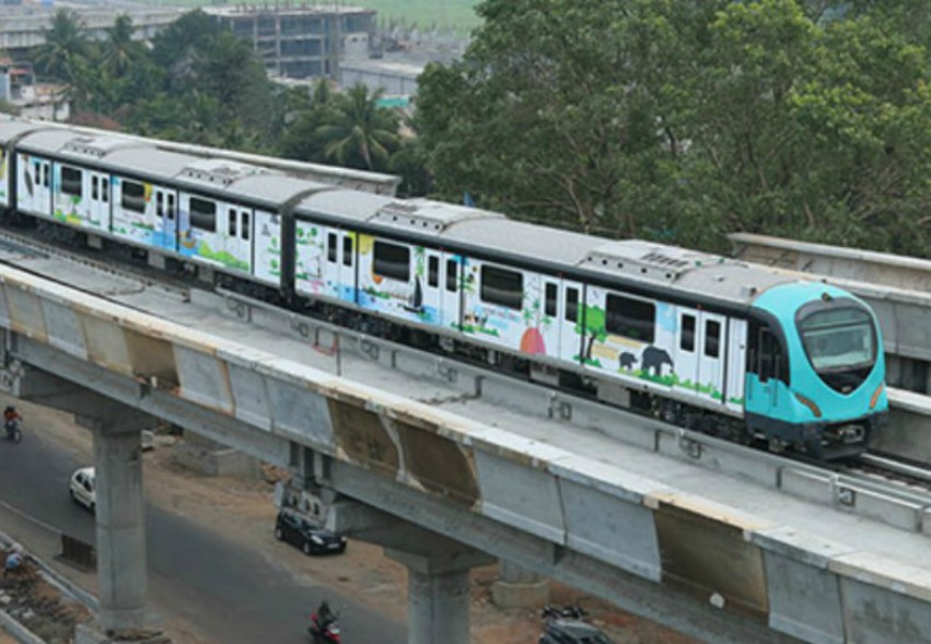 Kochi's train network will reserve 23 positions for trans people. Photo: Kochi metro