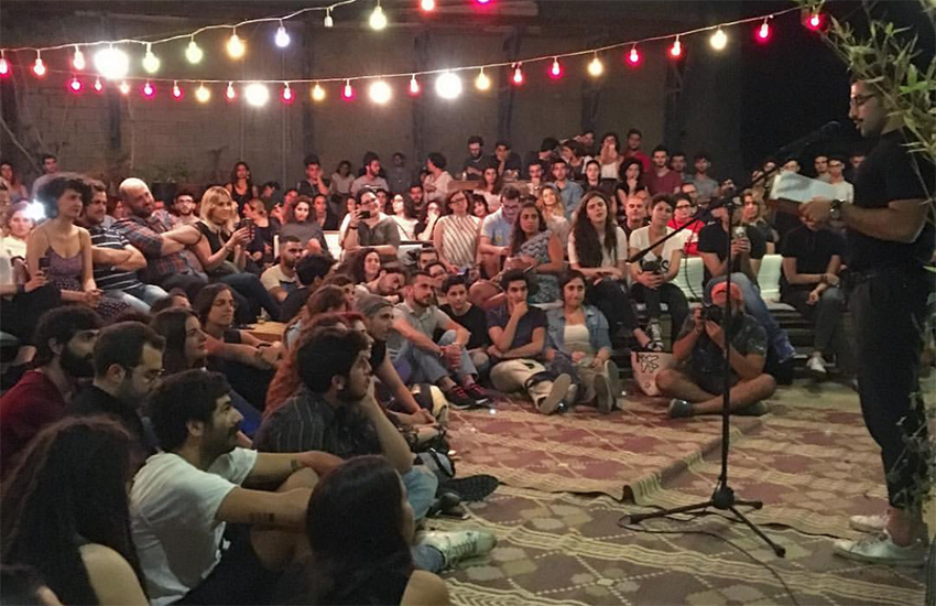 A storytelling session that took place Monday as part of Beirut Pride 2017