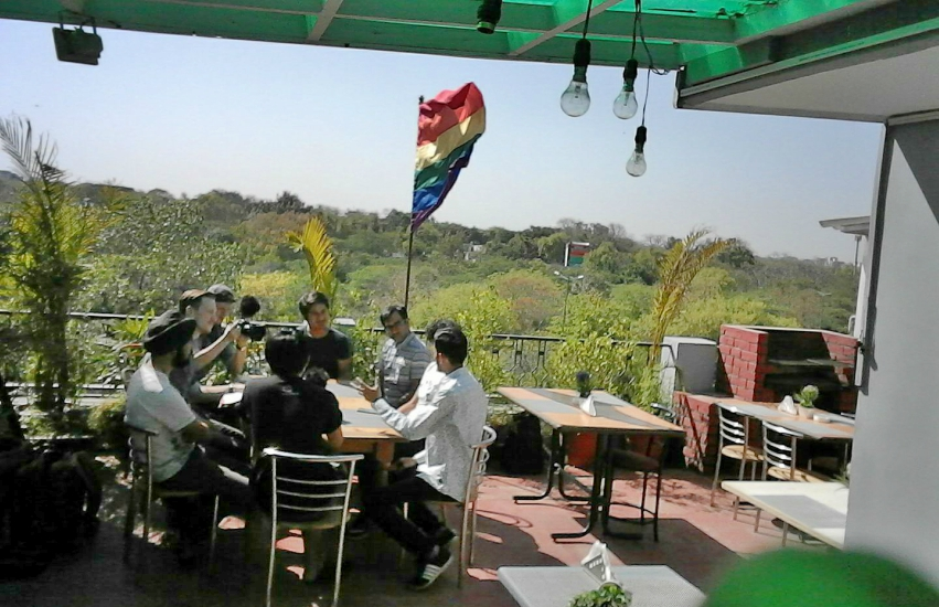 Chez Jerome - Q Cafe is the first LGBTI cafe in India's capital, New Delhi. Photo: Facebook