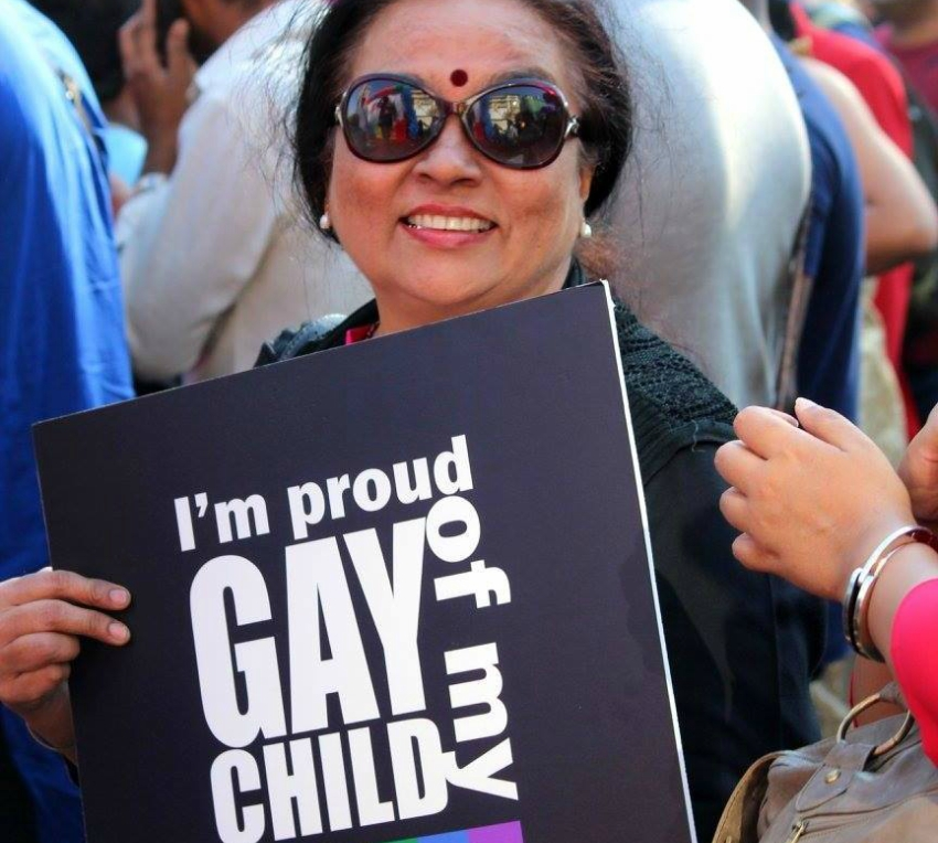 Padma Iyer is a fierce LGBTI ally in India. Photo: Facebook