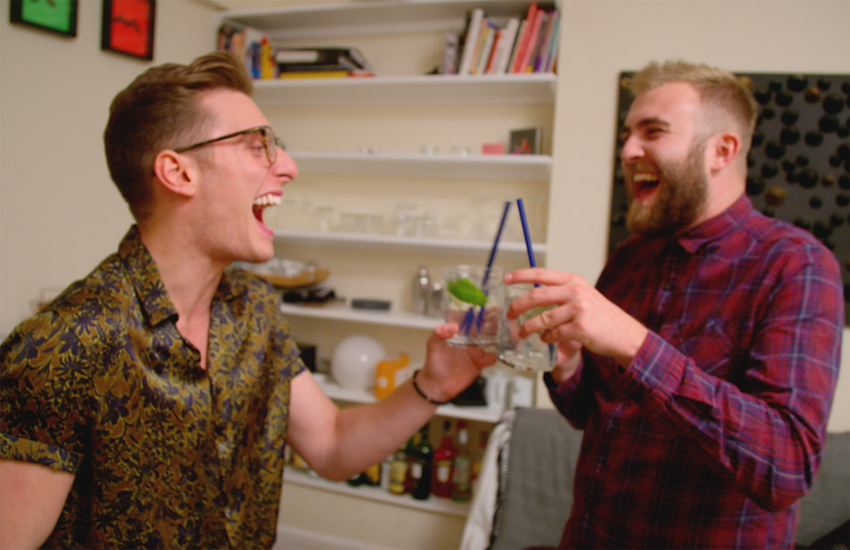 The new series is raw and honest insight into LGBTI life in the UK today