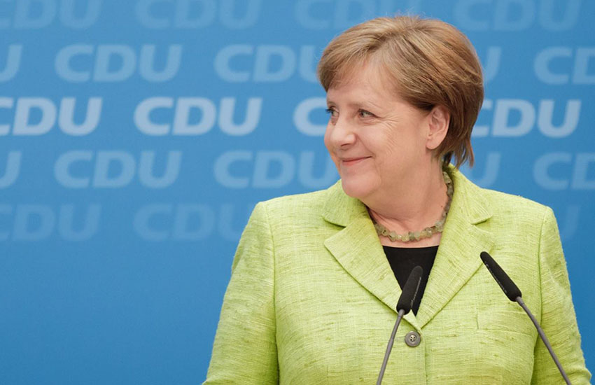 Angela Merkel opens the door on same-sex marriage
