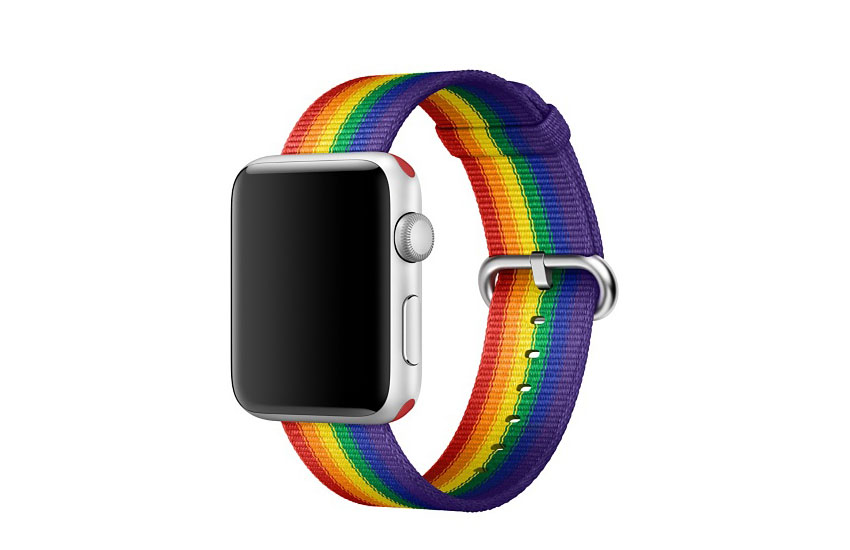 Apple finally released the rainbow Apple Watch band