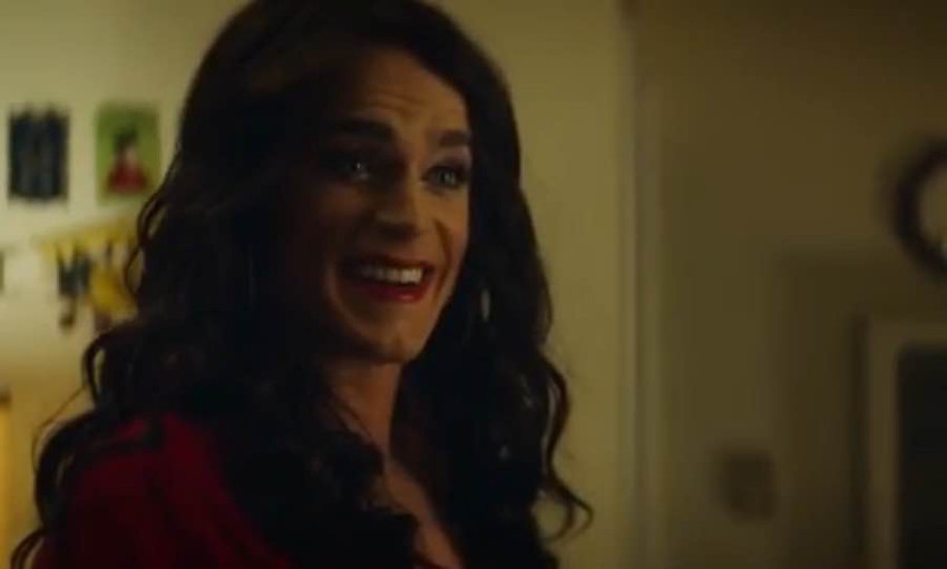 Matt Bomer portrays a transgender woman in the independent film Anything