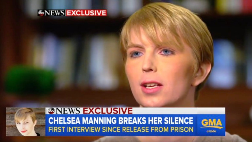 Chelsea Manning served seven years in military prison