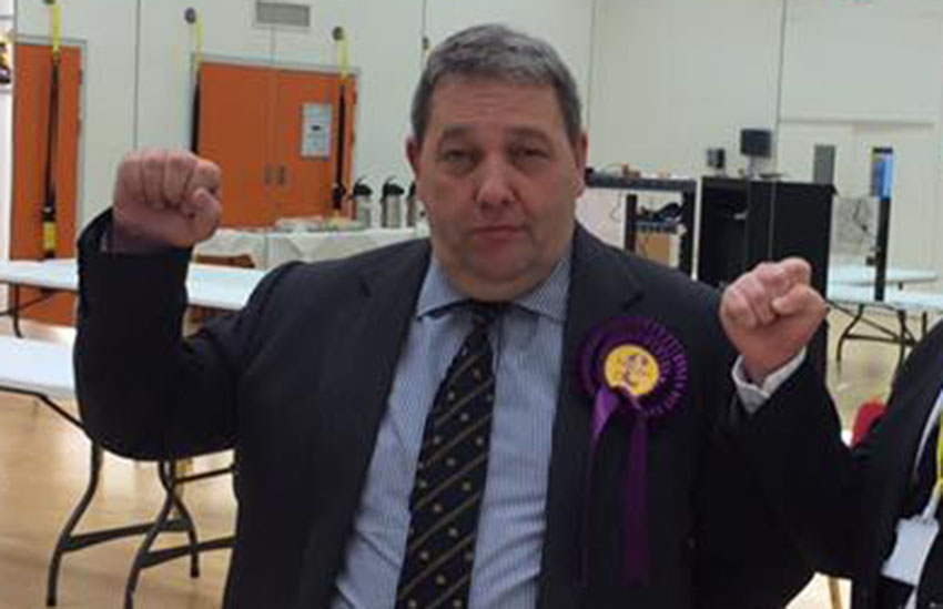 David Coburn wants to be UKIP party leader