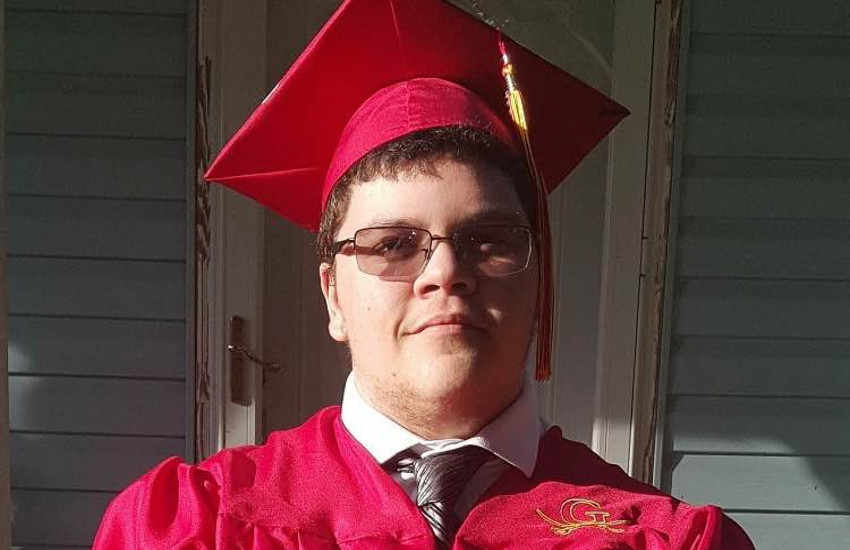 Gavin Grimm graduated and now has a college scholarship
