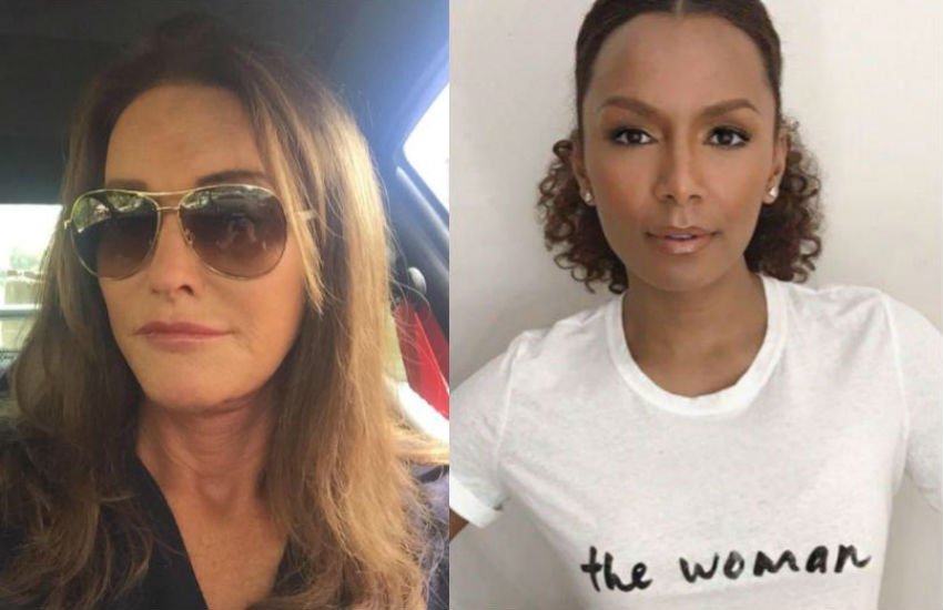 Caitlyn Jenner and Janet Mock