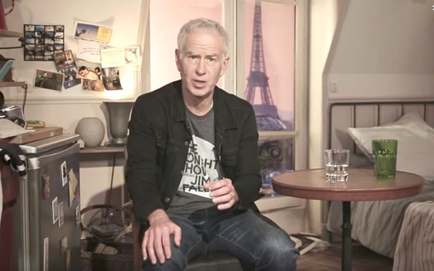 John McEnroe is a three-time Wimbledon champion and also won the US Open four times