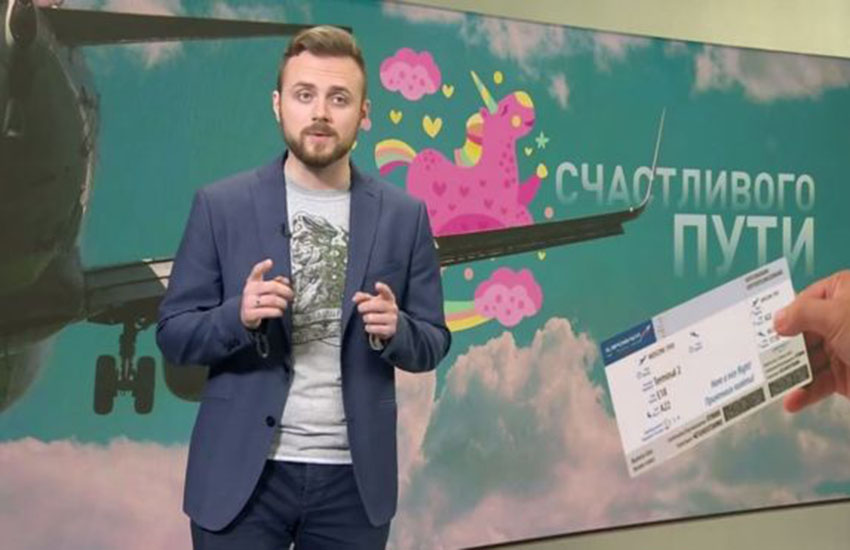 Russian TV is offering a one-way ticket out of the country to LGBTI people