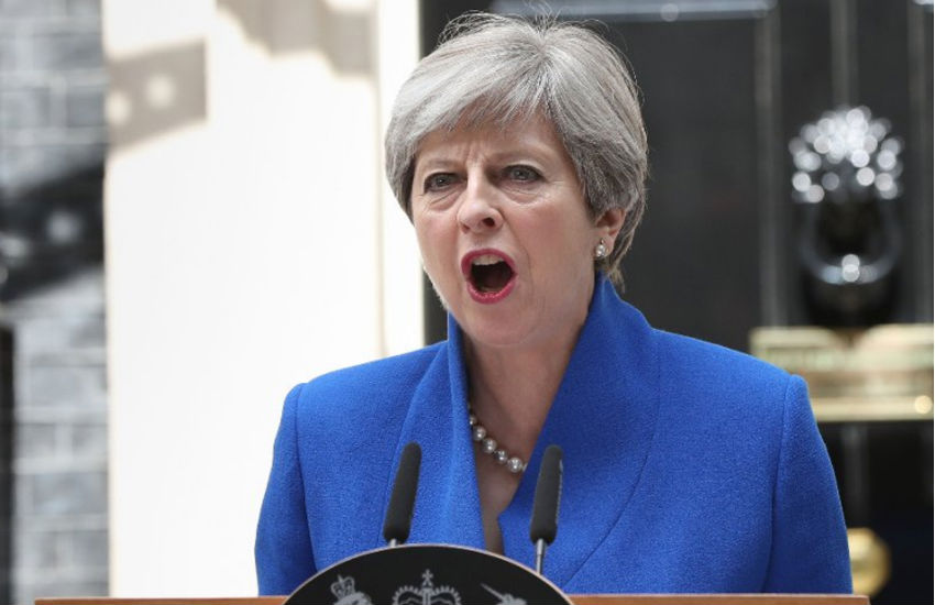 Prime Minister Theresa May charity stonewall happy pride