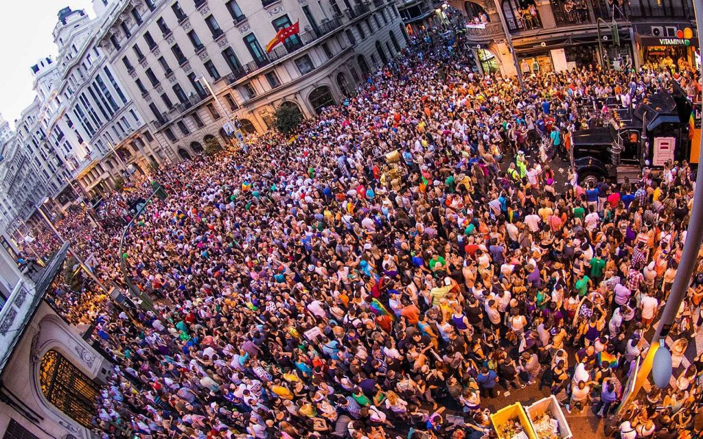 Madrid Pride: Experts fear World Pride could spread the virus.
