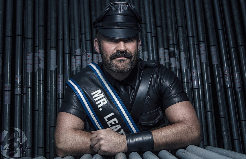 Joe King was Mr Leather Europe