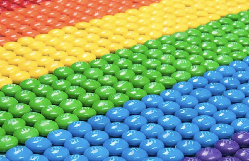 M&Ms has posted a message supporting Pride Month