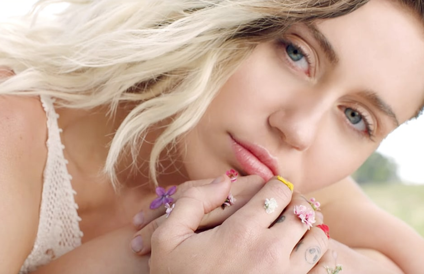 Miley recently released new single Malibu
